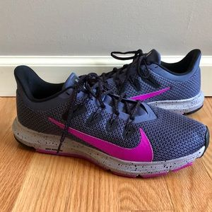 Nike Purple Pink Quest 2 SE Running Sneaker